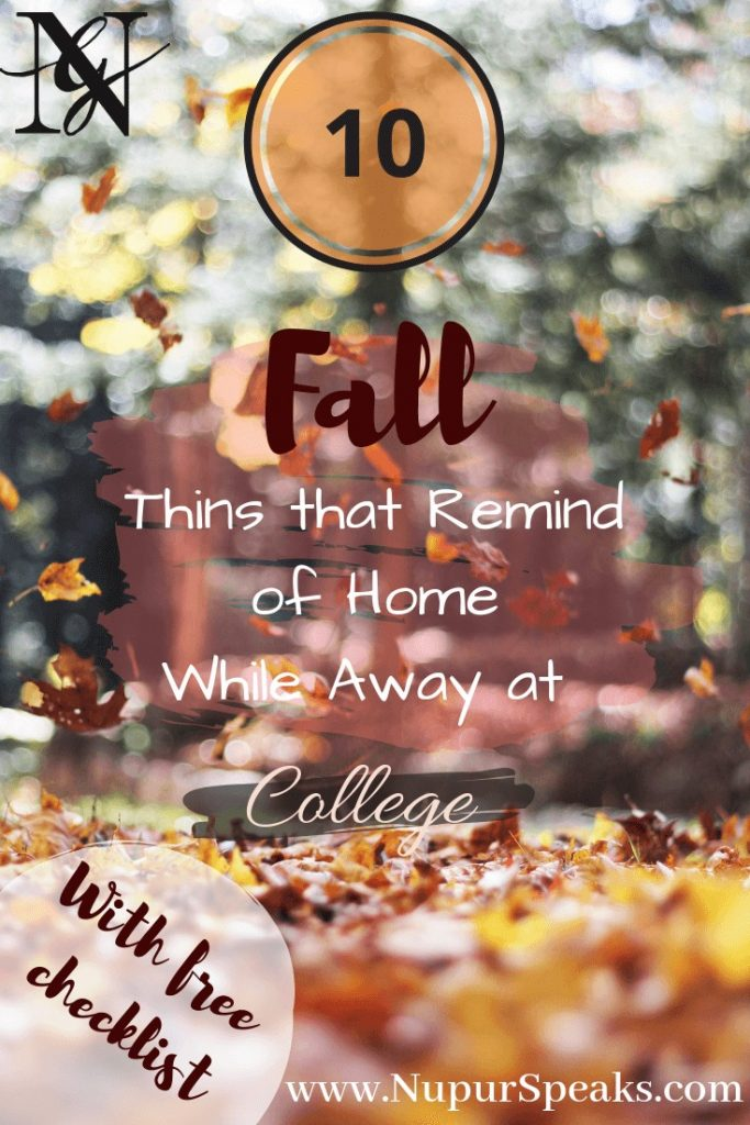 10 Fall Things that Remind of Home While Away at College