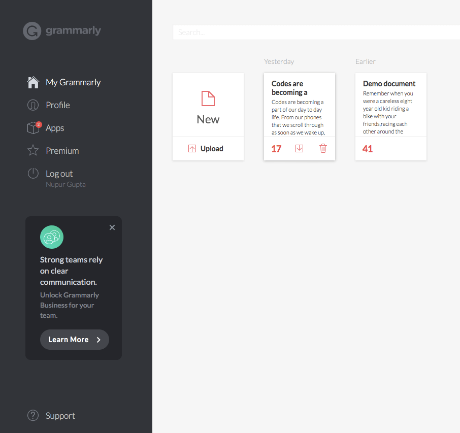 Download Grammarly For Browser