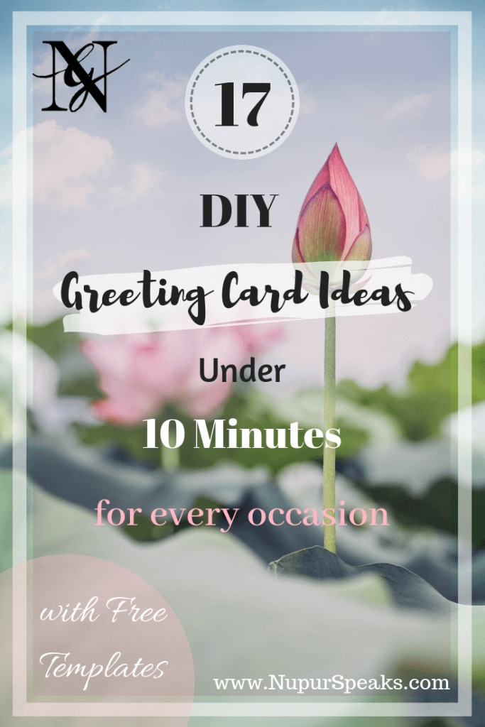 17 DIY Greeting Cards Ideas Under 10 Minutes for Every Occasion