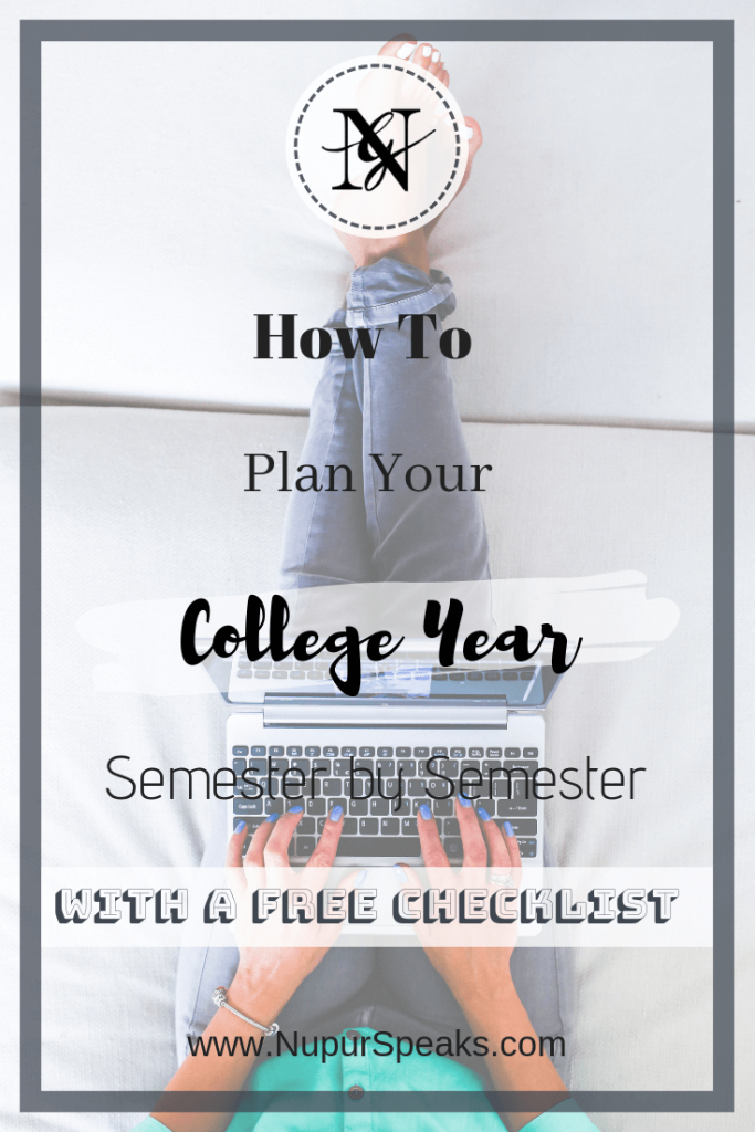 How To Plan Your College Year - Semester By Semester