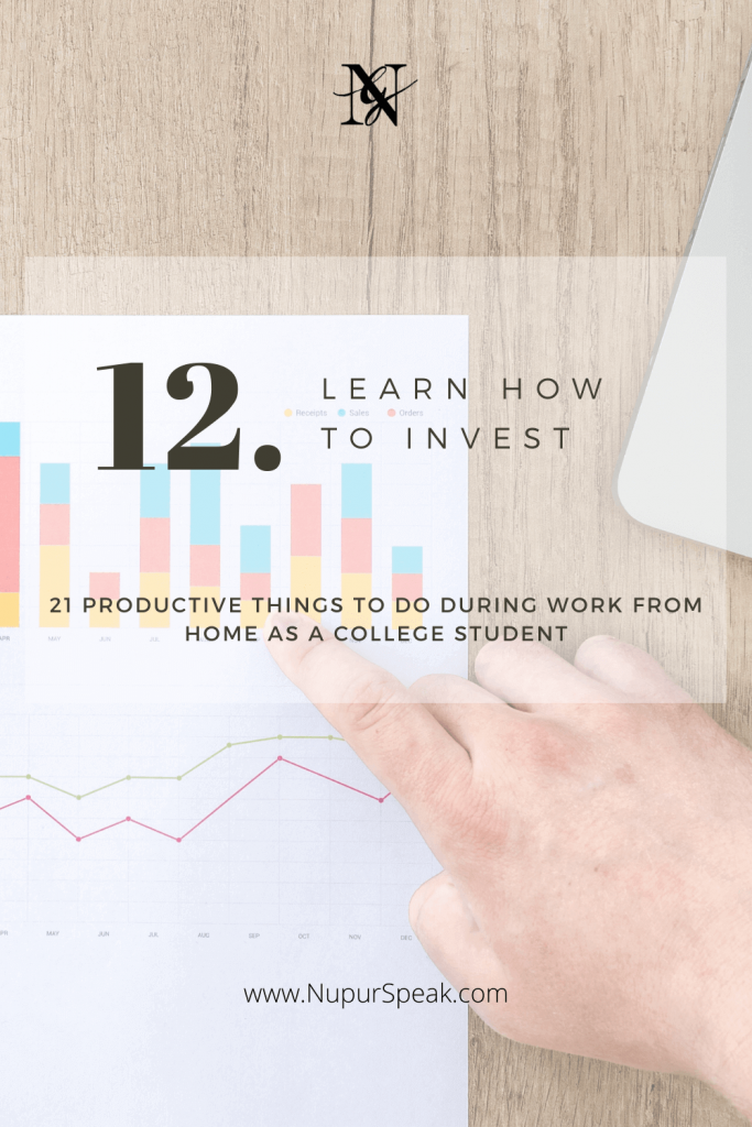 21 Constructive Activities to when Working From Home for College Students - NupurSpeaks
