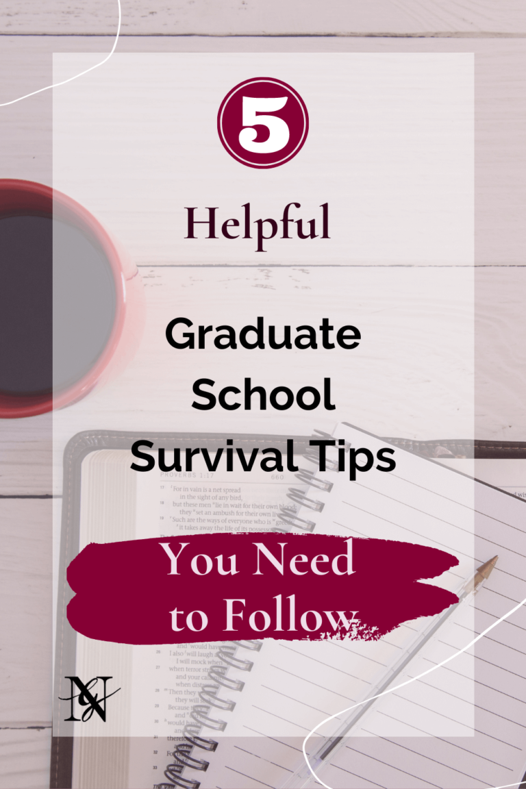 5 Helpful Graduate School Survival Tips You Need to Follow - Guest Post